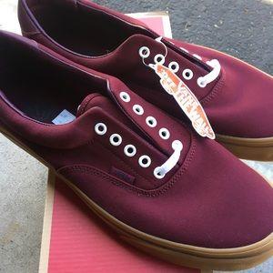 Vans Era 59 Brand New size 13 Burgundy w/ Gum Sole